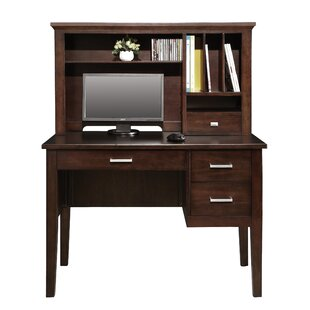Review Eaton Desk with Hutch by Darby Home Co