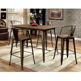 Tobiah 5 Piece Dining Set by Williston Forge