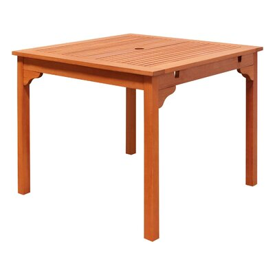 Beachcrest Home Amabel Wooden Dining Table Beachcrest Home Dailymail