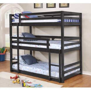 Best Review Alemany Twin over Twin Triple Bed by Harriet Bee Reviews (2019) & Buyer's Guide