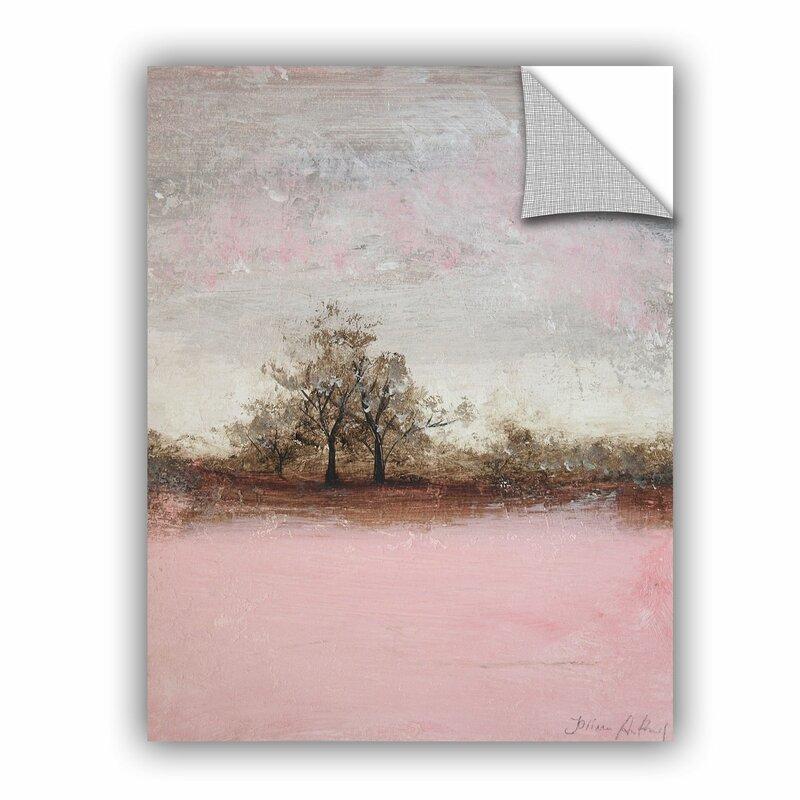 Red Barrel Studio Haddenham Pink Winter Ii Removable Wall Decal Wayfair