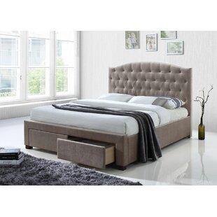 Crader Upholstered Storage Platform Bed