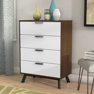 Great Price Sheyla 4 Drawer Chest by Zipcode Design