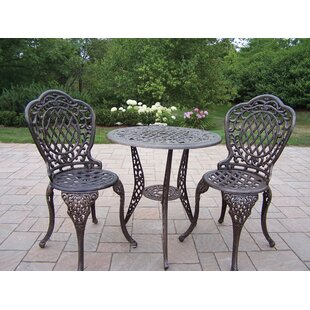 Mississippi 3 Piece Bistro Set