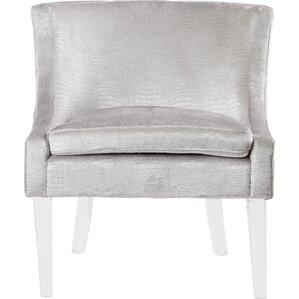 High Quality Henriques Velvet Barrel Chair