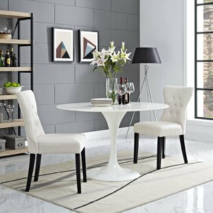 Bromborough Upholstered Parsons Chair Set of 2 by House of Hampton