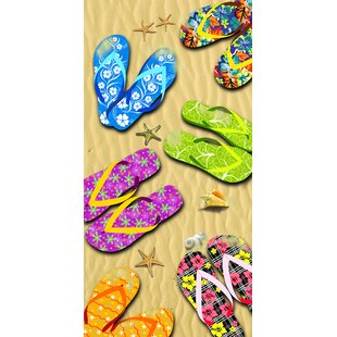 Sandals 100% Cotton Beach Towel