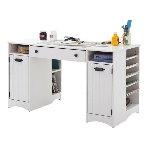 Adult Craft Desk With Storage Wayfair
