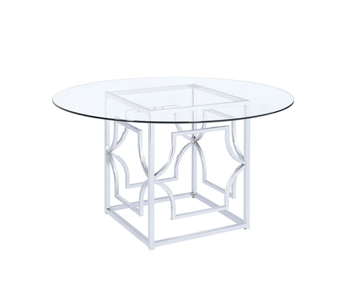Mercer41 tomaso dining table base only wayfair