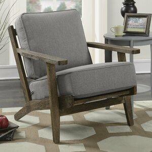 Modern Formal Living Room, Laurel Foundry Modern Farmhouse Lora Accent Armchair Kamrung Lers