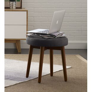 Reviews Penelope Round Tufted Accent Stool By Elle Decor