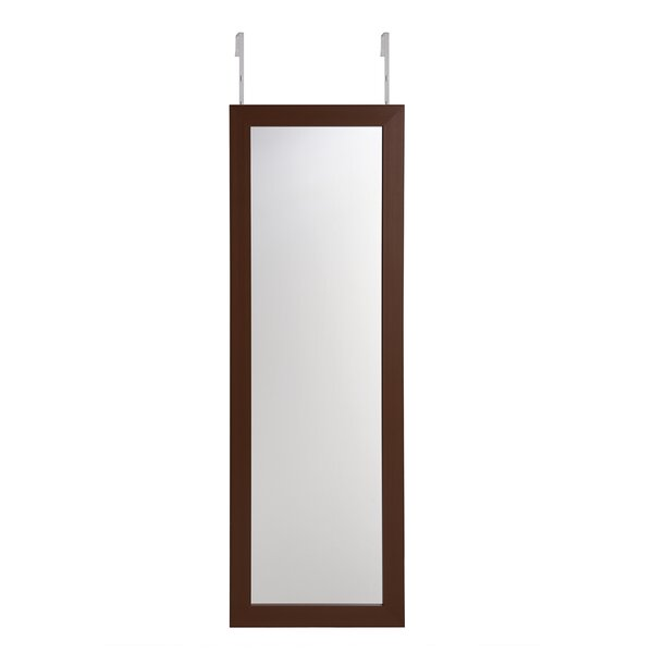 Modern Luxe  Armoire /à Bijoux Suspendue avec Porte et Fermeture aimant/ée Blanc