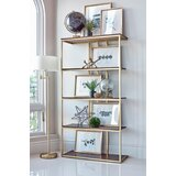 Kearny Etagere Bookcase by Everly Quinn