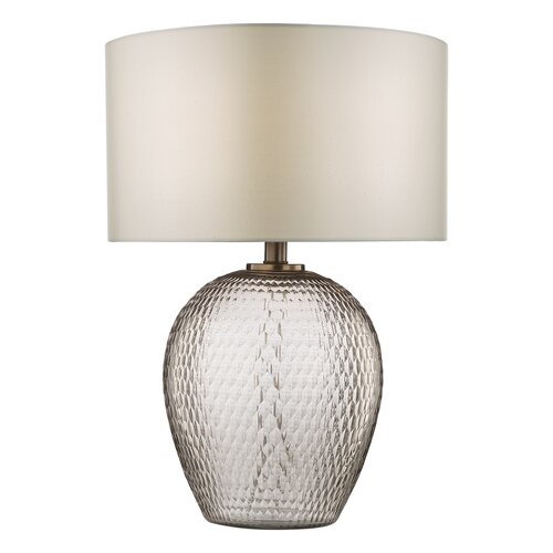 36 cm Tischleuchte Zhamo Ophelia & Co. | Lampen > Tischleuchten > Beistelltischlampen | Ophelia & Co.