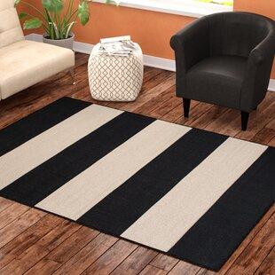 Best Choices Mckinney Black Indoor/Outdoor Area Rug ByEbern Designs