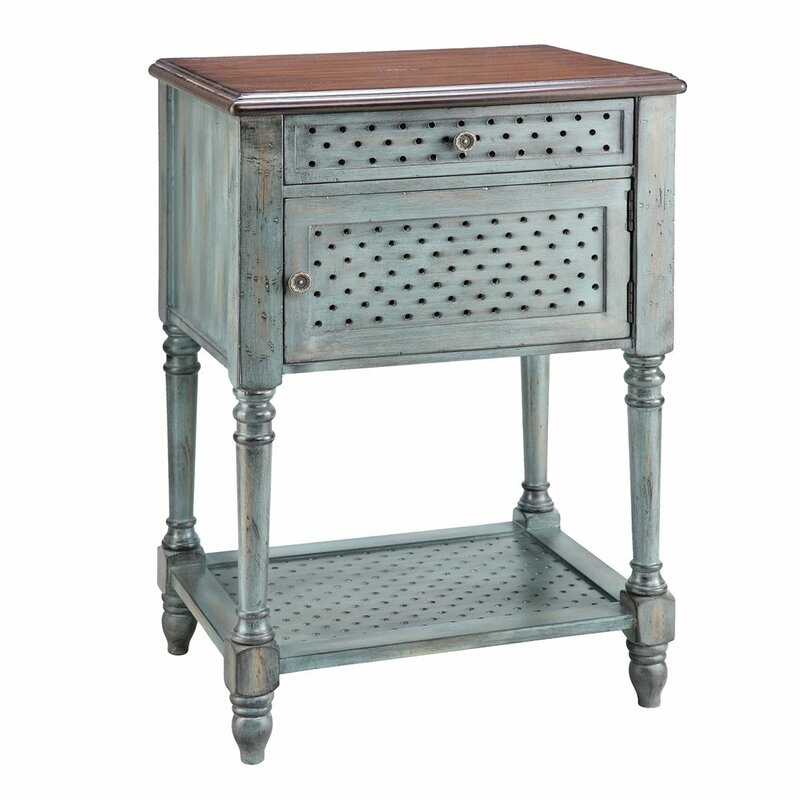 Ophelia Co Bayfield End Table With Storage Wayfair