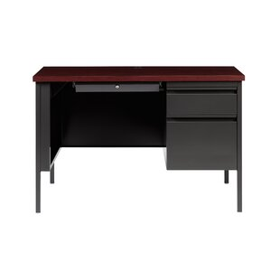 Kissner Right Hand Single Pedestal Computer Desk