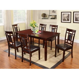 Kadalynn 7 Piece Dining Set Red Barrel Studio