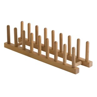 Bamboo Plate Rack  sc 1 st  Wayfair & Wooden Plate Rack | Wayfair