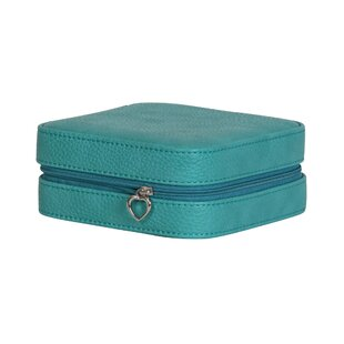 Order Faux Leather Jewelry Travel Case By Andover Mills