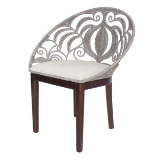 Bretta Rattan Side Chair Bungalow Rose