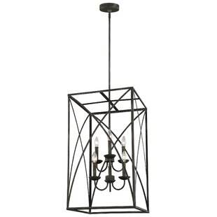Jalonte 6-Light Square/Rectangle Chandelier
