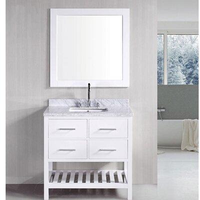 "Bathroom Vanities Lakeland Fl willa arlo interiors rishaan 37"" single bathroom vanity set with"