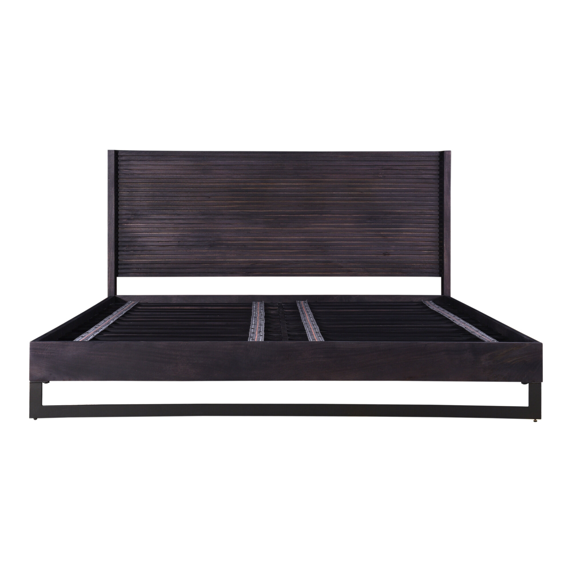 17 Stories Hammersmith King Solid Wood Low Profile Platform Bed