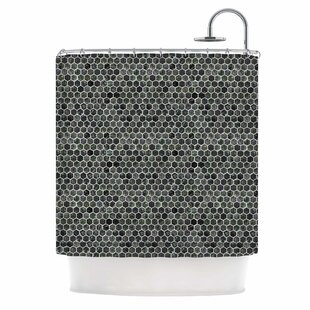'Marble' Single Shower Curtain