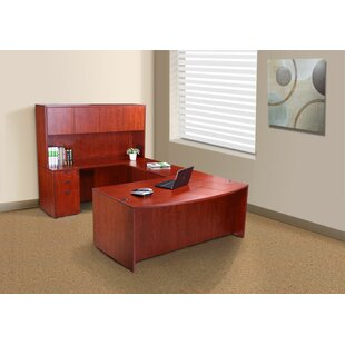 Fabiano 4 Piece Office Set with Hutch