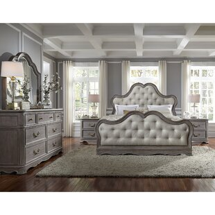 Yasmine Queen Panel Bed Bedroom Set