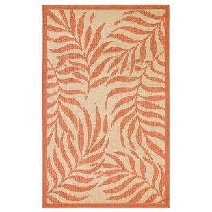 Cassana Tropical Beige/Orange Indoor/Outdoor Area Rug