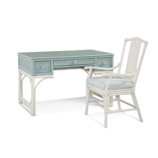 Summer Retreat Wood Writing Desk