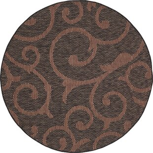 Stedman Chocolate Brown  Area Rug by Charlton Home