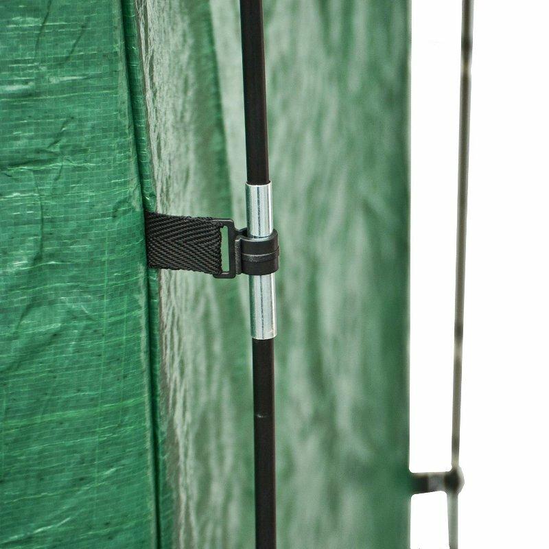 Rectangular Space Saving Outdoor Bike Storage Tent with Carry Bag  sc 1 st  Wayfair & Aleko Rectangular Space Saving Outdoor Bike Storage Tent with ...