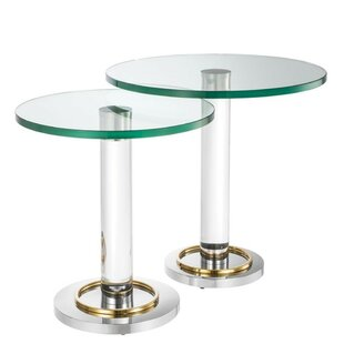 Compare & Buy Pallade 2 Piece Nesting Tables by Eichholtz