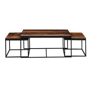 Crowson 3 Piece Coffee Table Set