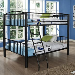Hettinger Heavy Metal Slat Bunk Bed by Zoomie Kids Bargain