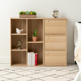 Geometric Bookcase by IRIS USA, Inc.
