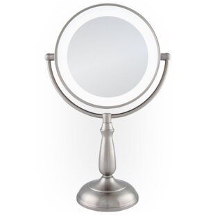 Price Check Dimmable Touch Ultra Bright Dual-Sided LED Lighted Vanity Mirror By Zadro