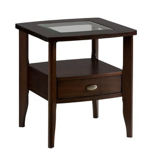 Holzer Wooden End Table