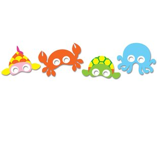 Ikner Ocean 8 Piece Favor Mask Set