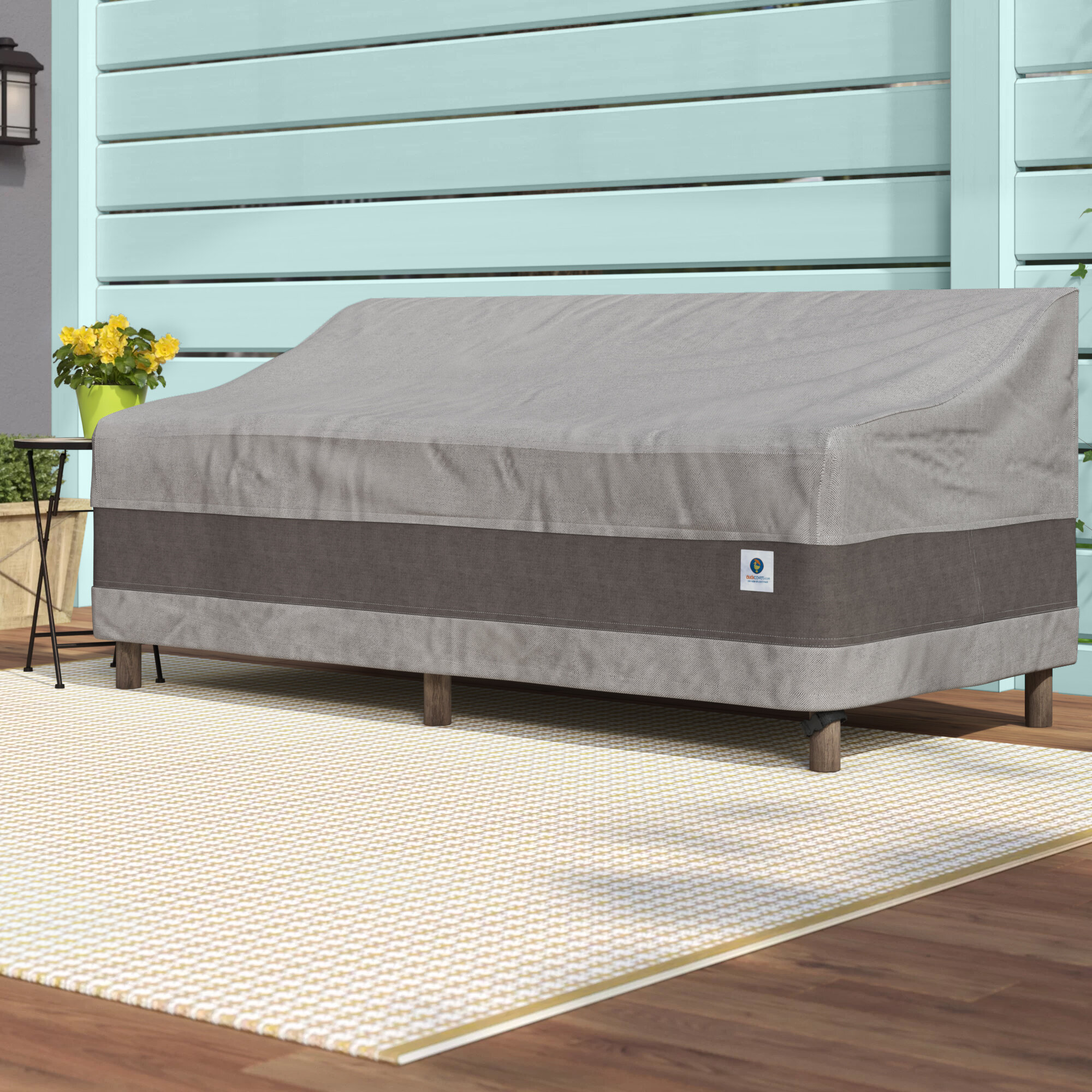 Arlmont Co Steve Water Resistant Patio Sofa Cover With 2 Year Warranty Reviews Wayfair