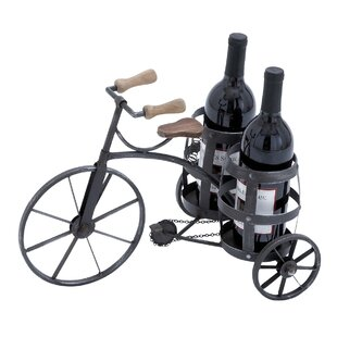 Urban 2 Bottle Tabletop Wine Bottle Rack by EC World Imports