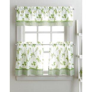 Cantonnières: Type de traitements de fenêtre - Rideaux de cuisine ...