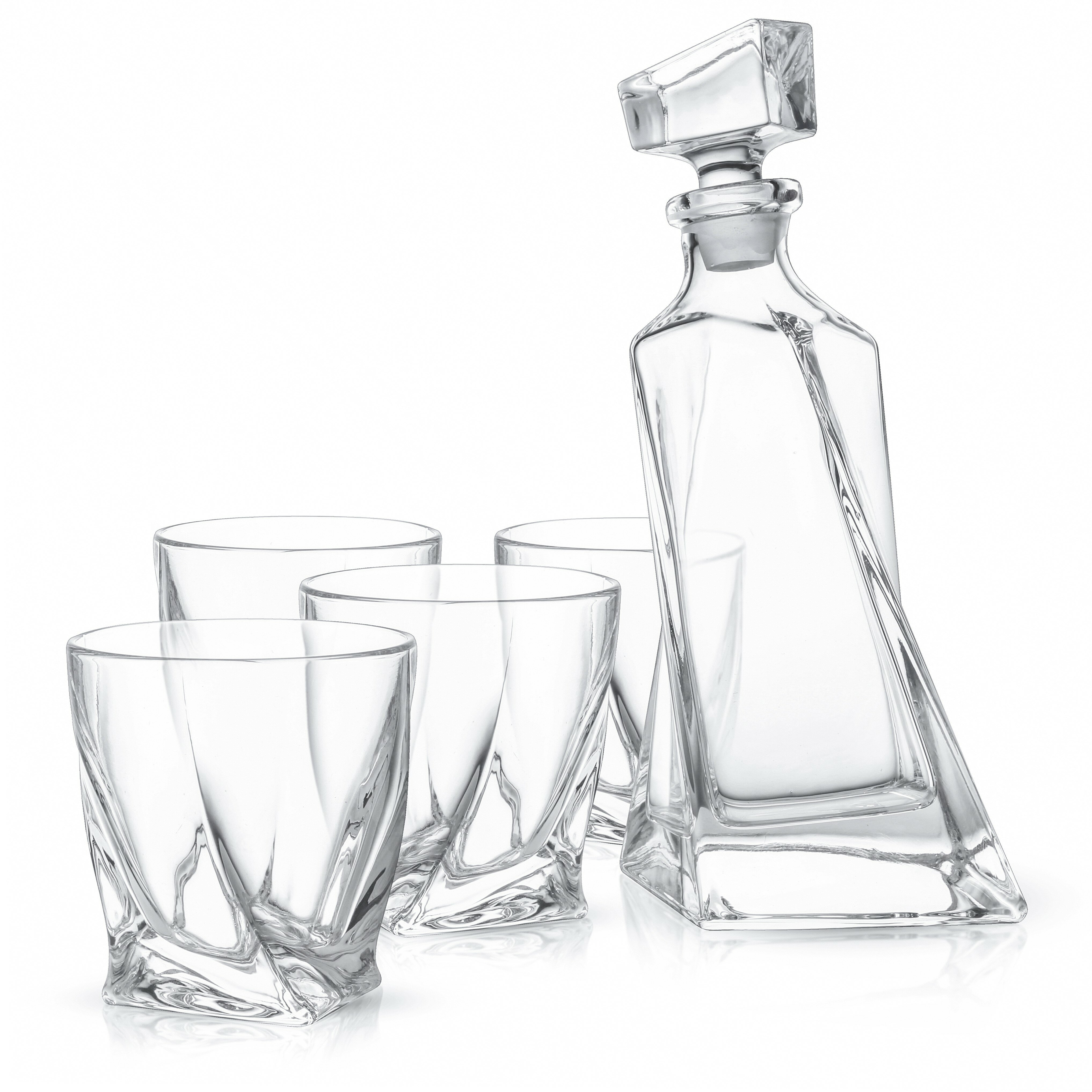 joyjolt atlas lead free crystal 5 piece beverage serving set wayfair Pontiac Bonneville Custom