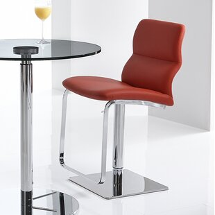 Intel Adjustable Height Swivel Bar Stool Bellini Modern Living