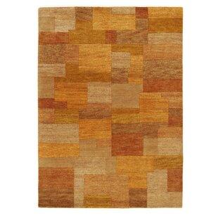 Skandar Handwoven Wool Orange Rug by Longweave