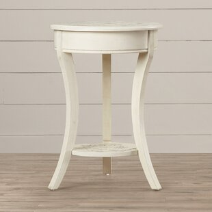 Bargain Nevaeh Parisian Script Accent Table By Lark Manor