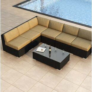 Azariah 7 Piece Sectional Set with Cushions